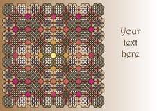 La tarjeta de la invitación Imagen de archivo libre de regalías
