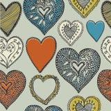 La tarjeta de la tarjeta del día de San Valentín. Fotos de archivo