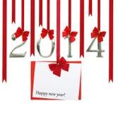 tarjeta 2014 Fotografía de archivo