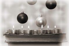La tarjeta del Año Nuevo Imagenes de archivo