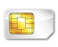 La tarjeta del sim Imágenes de archivo libres de regalías