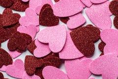 La tarjeta para el día del ` s de la tarjeta del día de San Valentín Foto de archivo libre de regalías