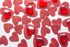La tarjeta para el día del ` s de la tarjeta del día de San Valentín Imagen de archivo libre de regalías