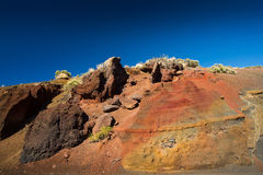 La Tarta i Tenerife Arkivfoton