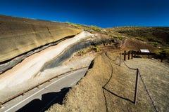 La Tarta in Tenerife. National park La Tarta in Tenerife stock photography