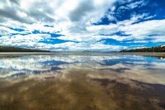 La Tasmania ha riflesso Fotografia Stock