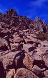 La Tasmanie : Montée du parc national de montagne de berceau photo libre de droits