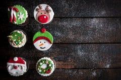 La tasse durcit pour Noël Photographie stock libre de droits