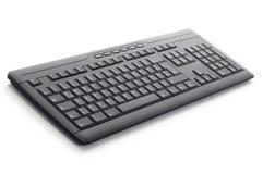 La tastiera nera se li mette in contatto con Immagini Stock