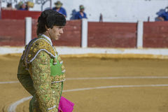 La tauromaquia española de Sebastian Castella del torero con Imagen de archivo libre de regalías