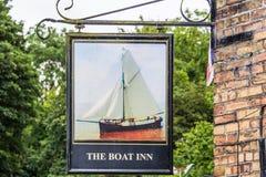 La taverne d'auberge de bateau, Jackfield, Shropshire Photos stock