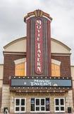 La taverne de film par Marcus Theatres offre diner de théâtre images libres de droits