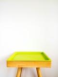 La tavola verde decora Immagine Stock Libera da Diritti