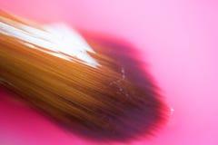 La tavolozza dell'acquerello è variopinta Fine alta e macro Fotografie Stock