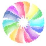 La tavolozza di colore di vettore si è formata di 14 strisce dei colori differenti Fotografia Stock Libera da Diritti