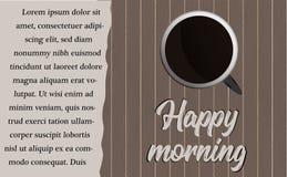 La taza de café fotografía de archivo libre de regalías