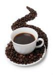 La taza de café Foto de archivo libre de regalías