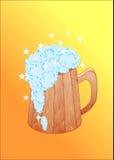 La taza de cerveza Fotos de archivo libres de regalías