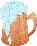 La taza de cerveza Imágenes de archivo libres de regalías