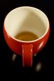 La taza de té roja 5 Imagen de archivo libre de regalías