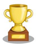 La taza del ganador ilustración del vector