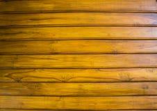La teca marrón Fotografía de archivo