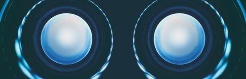 La technologie abstraite de robot observe le plan rapproché Photo libre de droits