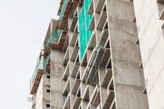 La technologie de la construction d'appartement ayant beaucoup d'étages Photos stock