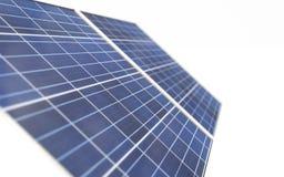 La technologie de production d'électricité solaire, 3D rendent illustration de vecteur