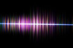 La technologie numérique audio d'égaliseur, palpitent musical résumé d'ainsi Images stock