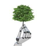 La technologie sauvegardent la nature Image stock