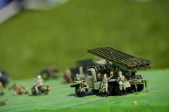 La tecnica dell'esercito gioca Katyusha Fotografie Stock Libere da Diritti