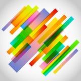 La tecnología abstracta alinea el fondo del vector Stock de ilustración