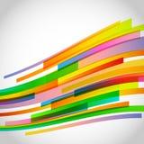 La tecnología abstracta alinea el fondo del vector Ilustración del Vector