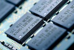 La tecnología de la electrónica foto de archivo libre de regalías