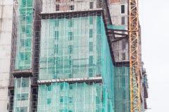 La tecnologia della costruzione dell'appartamento in un grattacielo Immagine Stock