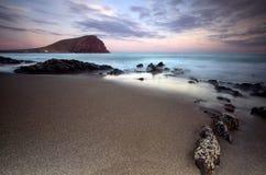La Tejita di Tenerife Immagini Stock