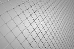La tela metálica, Alpha Network, establecimiento de una red, conecta Foto de archivo libre de regalías