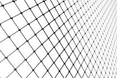 La tela metálica, Alpha Network, establecimiento de una red, conecta Foto de archivo
