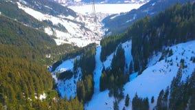 La teleferica di Schmitten, Zell sono vede, l'Austria archivi video