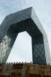 La televisión central de China establece jefatura del edificio Fotografía de archivo
