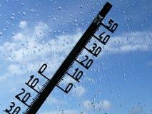 La température Photographie stock libre de droits