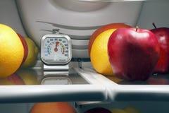 La température de nourriture Photo stock