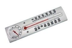 La température et indicateur d'humidité Photos libres de droits