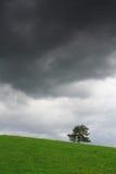 La tempête vient Photos stock