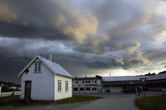La tempête vient? Photos libres de droits