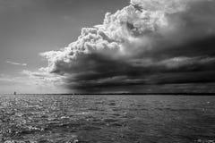 La tempête vient images libres de droits