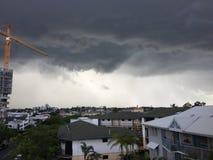 La tempête vient Photographie stock