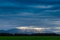 La tempesta è affare venente qualche cosa di buon dal cielo Fotografia Stock Libera da Diritti