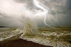 La tempesta immagini stock